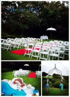 Wedding Ceremony Hire and Flowers