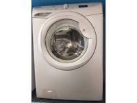v490 silver hoover 7kg 1200spin washing machine comes with warranty can be delivered or collected