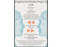 Brain Image and Time Compensated (£15 each) for helping us with a UOR Research Study