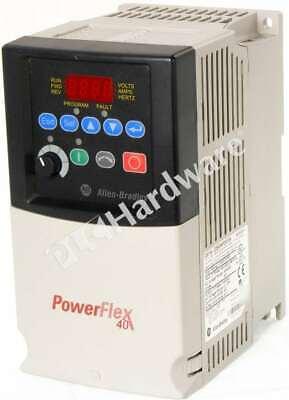 Allen Bradley 22b-e4p2n104 A Powerflex 40 Ac Drive 600vac 3-phase 4.2a 3hp Ip20