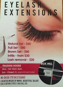 Eyelash extensions Box Hill / Lashs by Suah Box Hill Whitehorse Area Preview