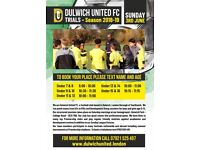 Trials being held for Dulwich United Football Club - June 3 2018