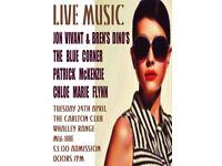 Carlton Club Live Music Night