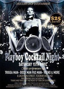 Playboy Cocktail Night Melbourne CBD Melbourne City Preview