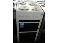 a205 white beko 50cm solid ring electric cooker new graded with 12 month warranty can be delivered