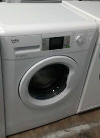 n218 white beko 7kg 1500spin A+++ rated washing machine comes with warranty can be delivered