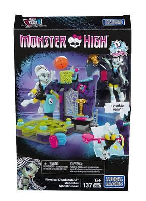 Frankie Stien (NEW Mega Bloks Monster High Physical Deaducation Frankie Stein Doll BLOCK)