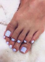 $35 full shellac Pedicure on special!