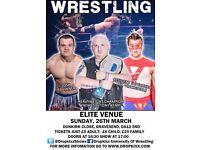 Dropkixx Wrestling in Gravesend