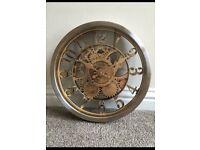 Vintage Style Gold Clock