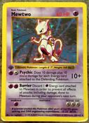 Pokemon Base First Edition Cards