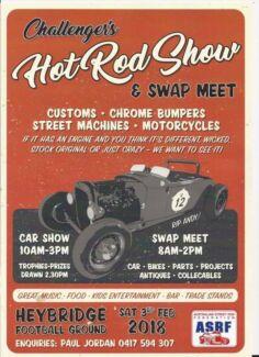 Car show and swap meet