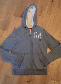 Men's Hollister Winter Hoody Size L