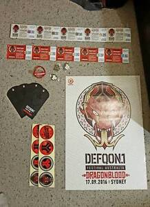 DEFQON 1 Q-DANCE TICKETS SYDNEY AUSTRALIA Canberra City North Canberra Preview