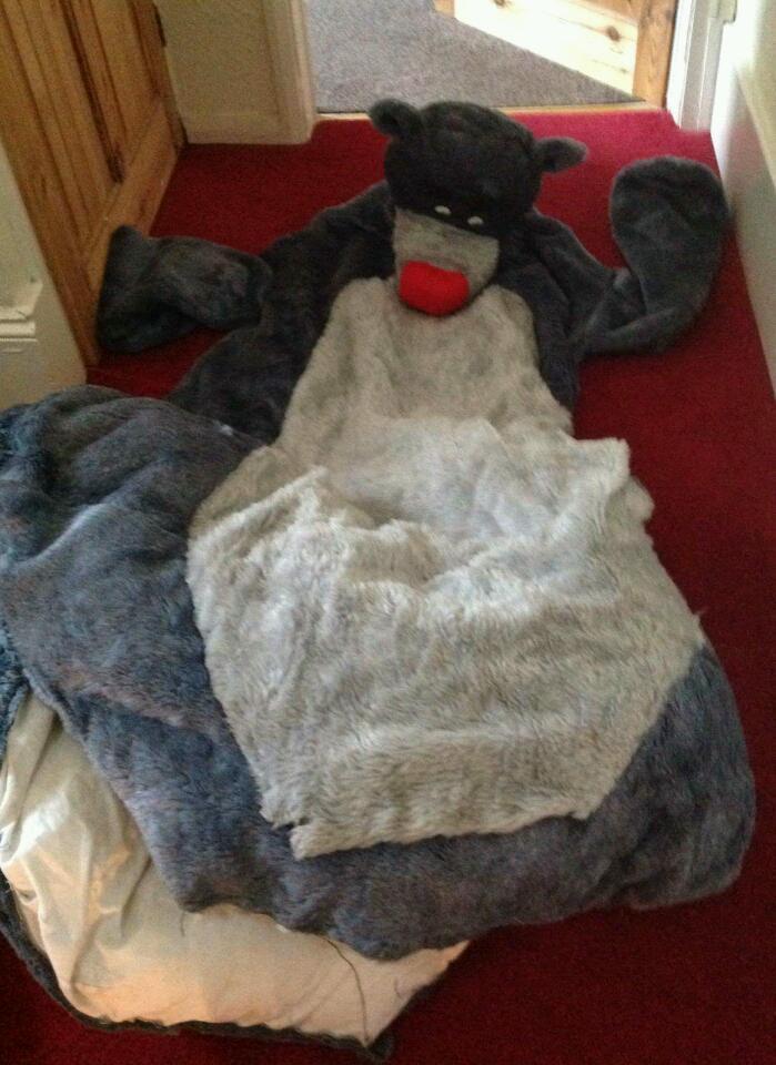 Adult Disney Jungle Book Baloo Dress Up Costume In Crook