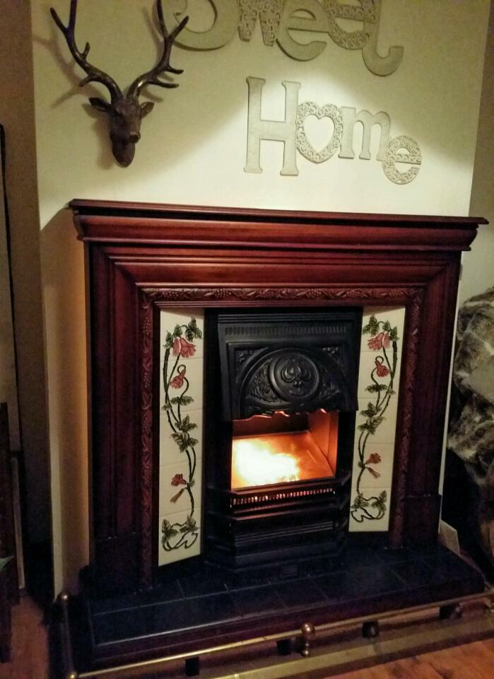 Victorian style electric fireplace suite | in Northfield ...