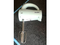 Pistachio breville hand mixer graded with 12 month warranty can be delivered or collected