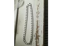 121.75g silver chain