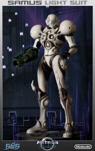 First 4 Figures Metroid Prime 2 1:4 Samus light suit Ex