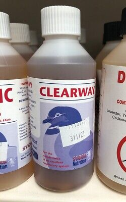 Stock Nutrition Clearway Pigeon Supplement Pigeons Respiratory Care BMFD