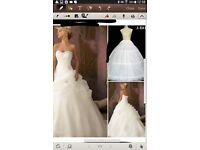 brand new colette dinnigan wedding dress size 12
