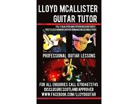Lloyd McAllister Guitar Tuition Glasgow Southside