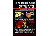 Guitar Lessons Southside Glasgow