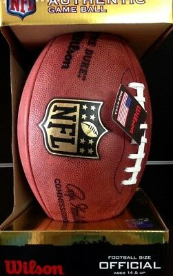 Wilson NFL Official Game Football -- BrandNew