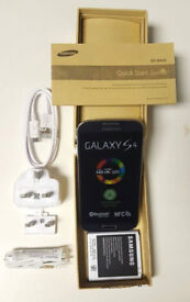 SAMSUNG GALAXY S4 SEALED SIM FREE UNLOCKED BOXED WITH ALL ACCESSORIES- REFURBISHED