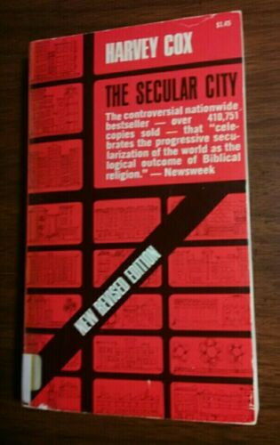 1966 The Secular City By Harvey Cox Daniel Callahan Paperback Book REVISED EDI. - $5.76