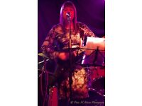 Female Singer Songwriter available for music collaborations, live gigging & studio sessions