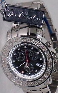 men s jojo rodeo watches new authentic mens jojo joe rodeo junior jju6 2 50 ct aprx diamonds watch