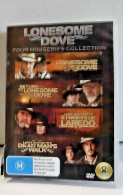 Lonesome Dove - 4 Miniseries Collection New Case Cracked