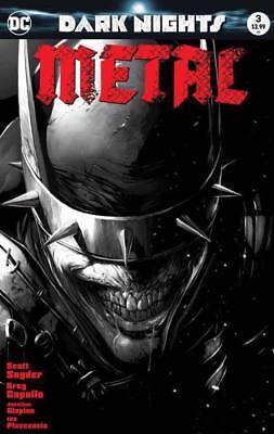 Dark Nights Metal #3 NM or better Francesco Mattina B&W Black and White LTD 1500