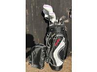 Spalding Golf Clubs & bag