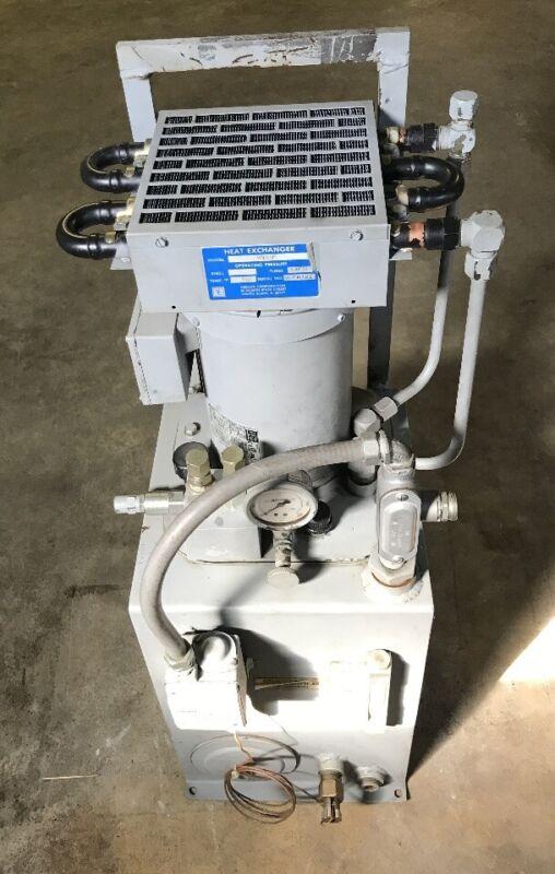 Vescor Heat Ex-changer VOCS5P/ WEG Motor 20222 HP 2.0, 208-230/460, 1730 RPM/ &