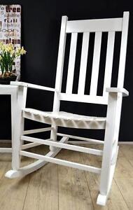 schaukelstuhl in weiss g nstig online kaufen bei ebay. Black Bedroom Furniture Sets. Home Design Ideas
