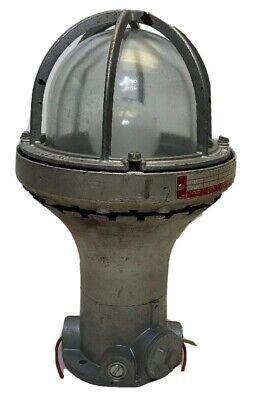Vintage Killark Hx - 1 - 200 Explosion Proof Light Fixture Steampunk Industerial