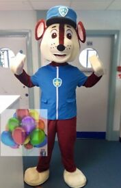 Chase unmanned mascot costume hire 24 hiurs