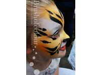 Professional face painter/ face painting in London