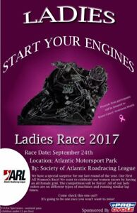 Women's Motorcycle race!!