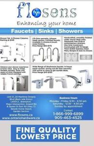 Shower panels,shower sets, shower column, washroom faucets, plumbing connectors