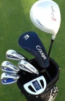 Golf clubs RH ladies Complete set + New Driver + Bag
