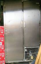 Stainless steel commercial fridge Putney Ryde Area Preview