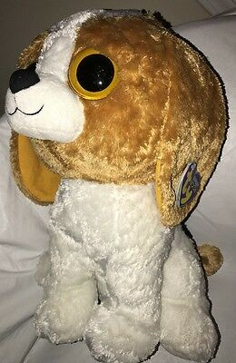 "Ty Beanie Boo Cookie The Beagle Jumbo 18"" Extra Large Plush HTF Rare MWMT"