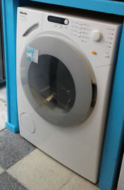 e674 white miele 6kg 1400spin washing machine comes with warranty can be delivered or collected