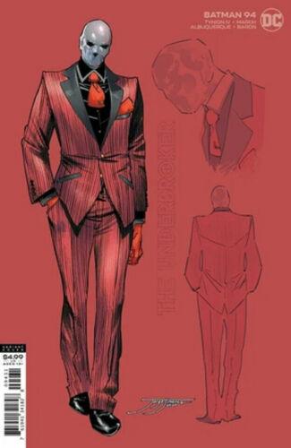DC BATMAN #94 JORGE JIMENEZ 1:25 INCENTIVE UNDERBROKER FREE BAG & BOARD!