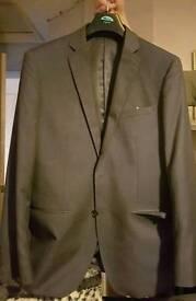 New Mens dark grey suit