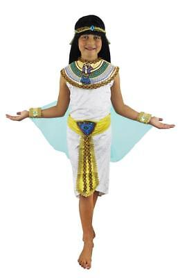 ÄGYPTISCHES MÄDCHEN KINDER KÖNIGIN DES NILS KLEOPATRA PHARAO VERKLEIDUNG