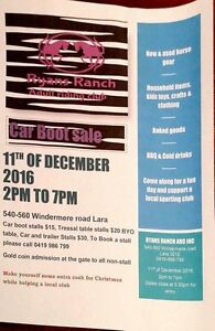 Car boot sale! Horse gear and more!!! THIS SUNDAY! Corio Geelong City Preview